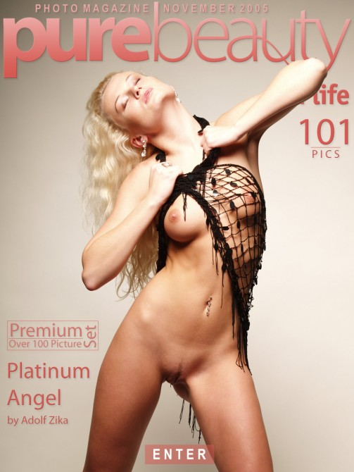 Katerina H - `Platinum Angel` - by Adolf Zika for PUREBEAUTY