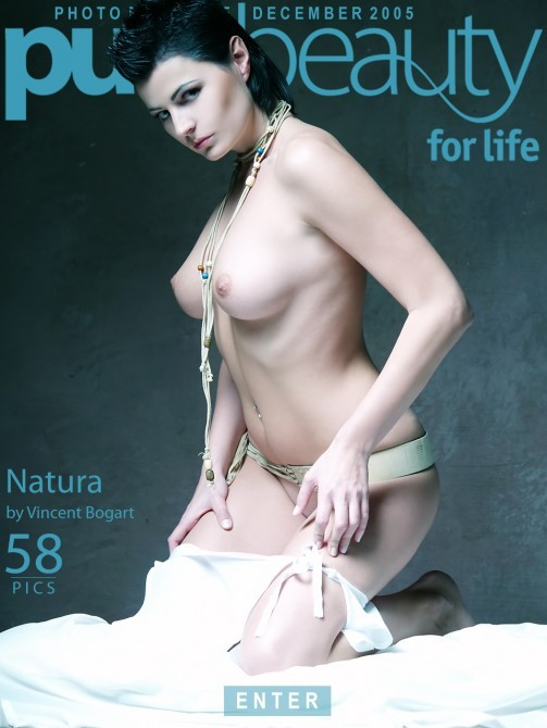 Avi Ivariova in Natura gallery from PUREBEAUTY by Vincent Bogart