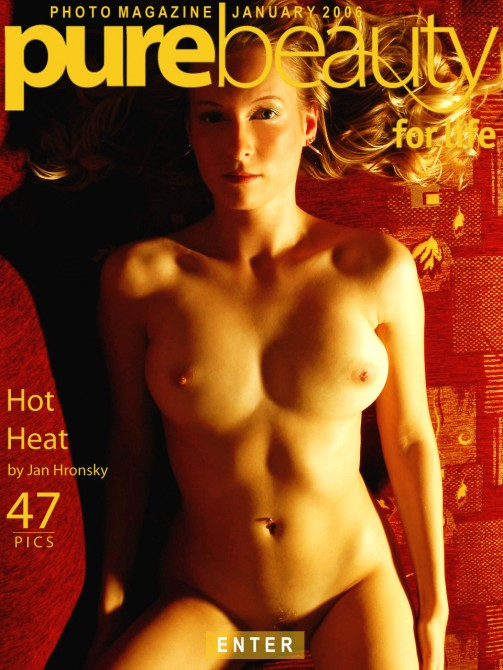 Jana - `Hot Heat` - by Jan Hronsky for PUREBEAUTY