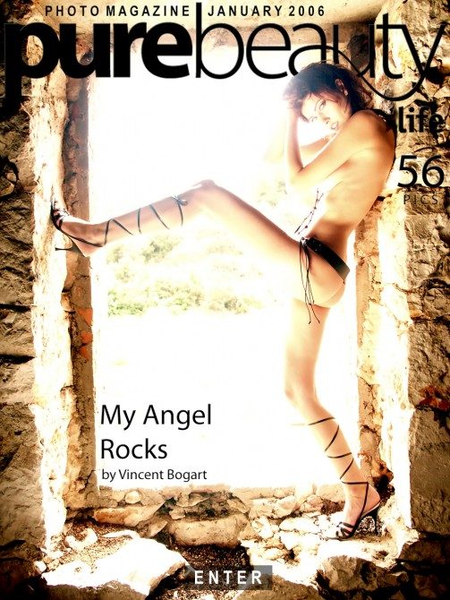 Stana - `My Angel Rocks` - by Vincent Bogart for PUREBEAUTY