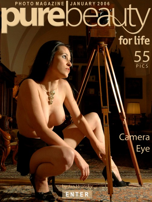 Andrea - `Camera Eye` - by Jan Hronsky for PUREBEAUTY