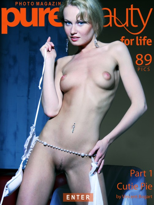 Katerina H - `Cutie Pie - Part I` - by Vincent Bogart for PUREBEAUTY