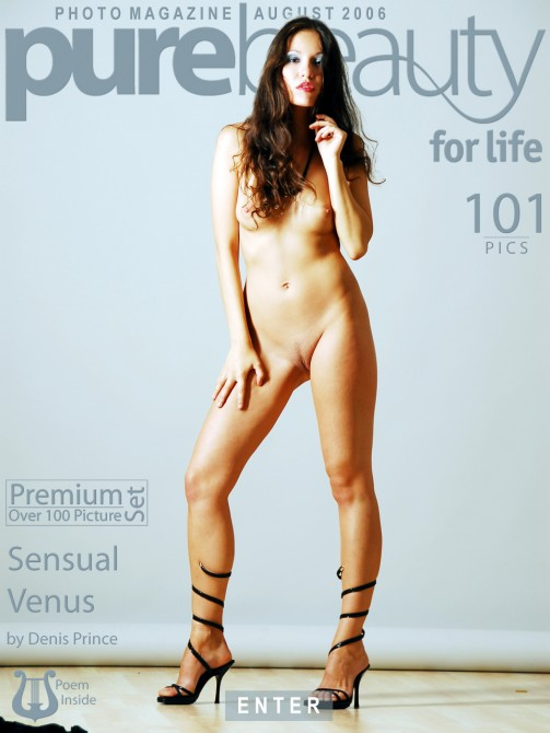 Erika Nasticka - `Sensual Venus` - by Denis Prince for PUREBEAUTY