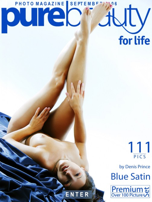 Jana M - `Blue Satin` - by Denis Price for PUREBEAUTY