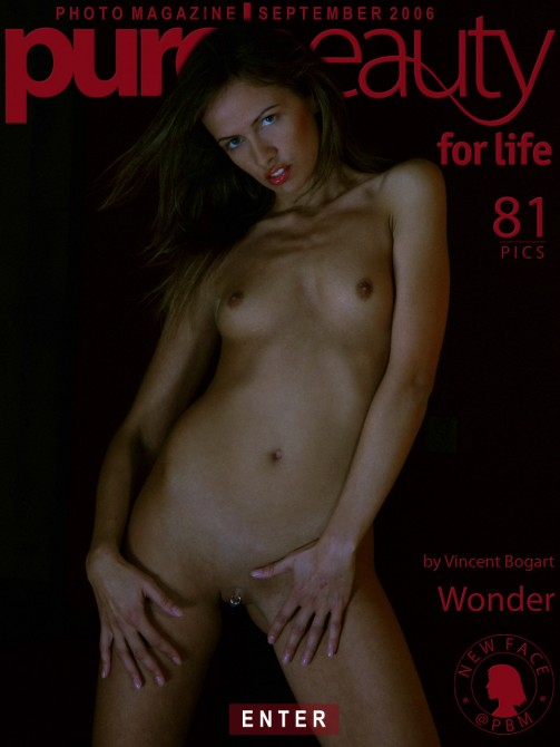 Cheyenne B - `Wonder` - by Vincent Bogart for PUREBEAUTY