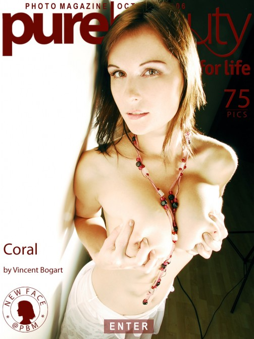 Miriam M - `Coral` - by Vincent Bogart for PUREBEAUTY