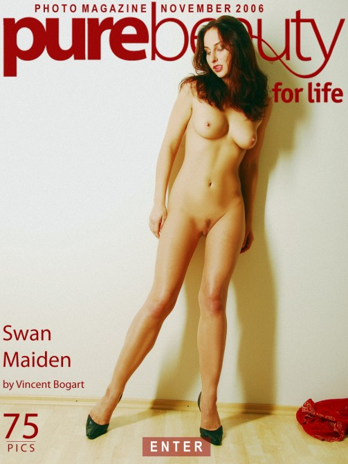 Eva M - `Swan Maiden` - by Vincent Bogart for PUREBEAUTY