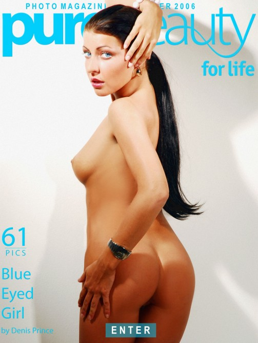 Joan White - `Blue Eyed Girl` - by Denis Prince for PUREBEAUTY