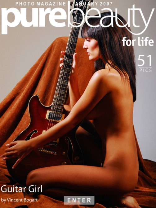 Bara - `Guitar Girl` - by Vincent Bogart for PUREBEAUTY