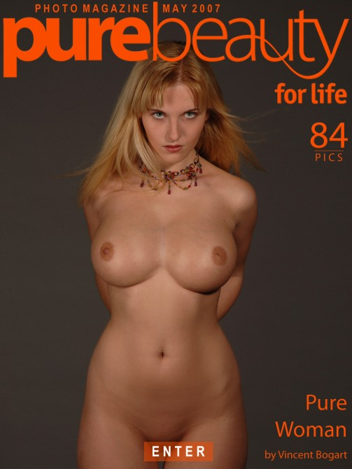 Marketa P - `Pure Woman` - by Vincent Bogart for PUREBEAUTY