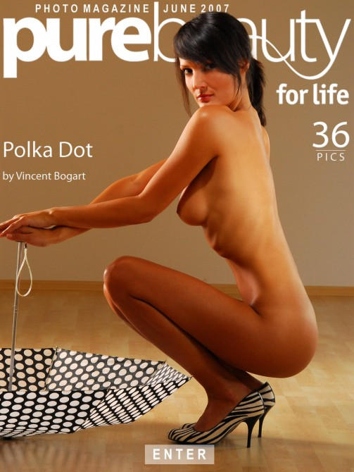 Bara D - `Polka Dot` - by Vincent Bogart for PUREBEAUTY