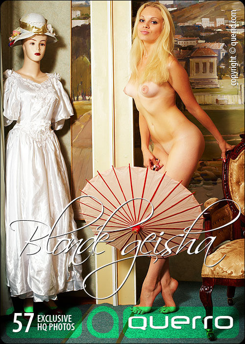 Kristina - `Blonde Geisha` - for QUERRO
