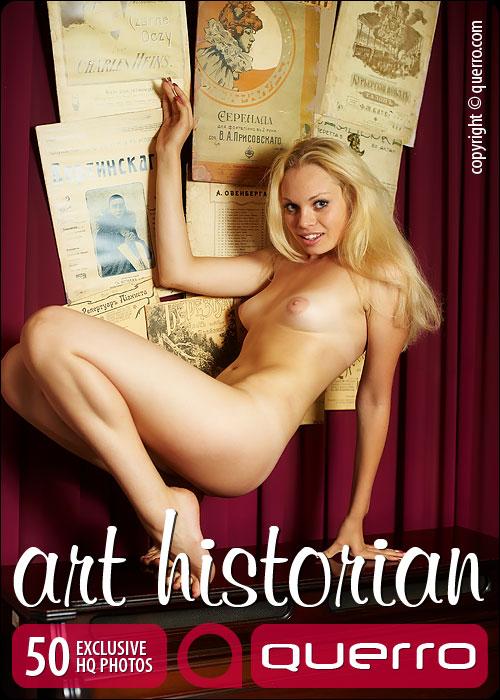 Kristina - `Art Historian` - for QUERRO