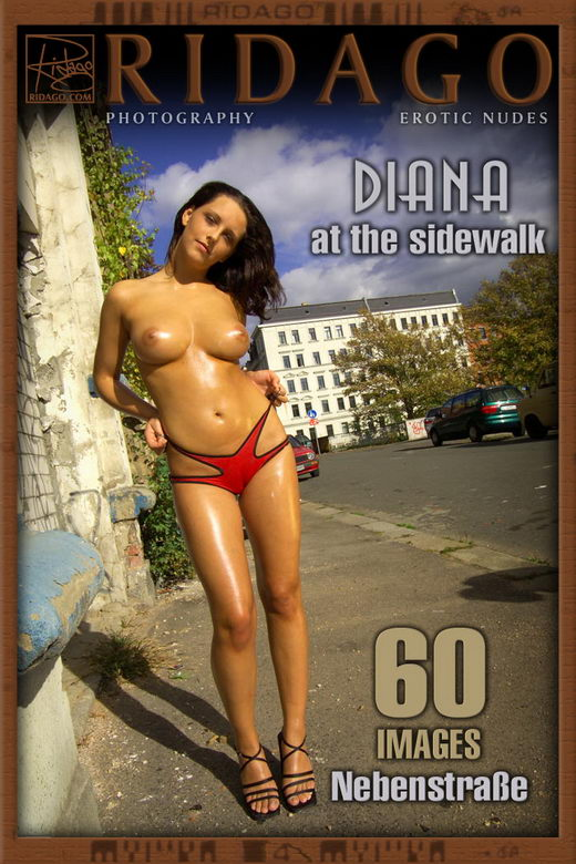 Diana - `At The Sidewalk` - by Carlos Ridago for RIDAGO
