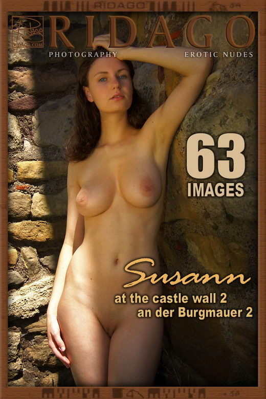 Susann - `At The Castle Wall II` - by Carlos Ridago for RIDAGO