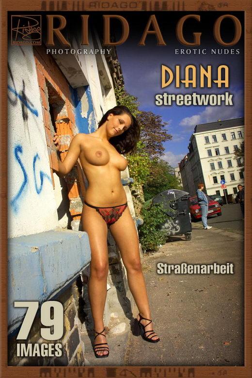 Diana - `Streetwalker` - by Carlos Ridago for RIDAGO
