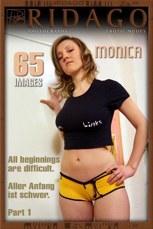 Monica - `All Beginnings Are Difficult - Part 1` - by Carlos Ridago for RIDAGO
