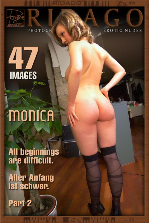 Monica - `All Beginnings Are Difficult - Part 2` - by Carlos Ridago for RIDAGO