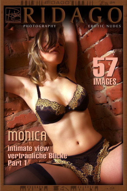 Monica - `Intimate View - Part 1` - by Carlos Ridago for RIDAGO