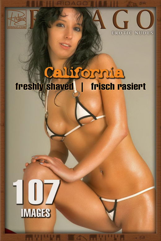 California - `Freshly Shaved` - by Carlos Ridago for RIDAGO