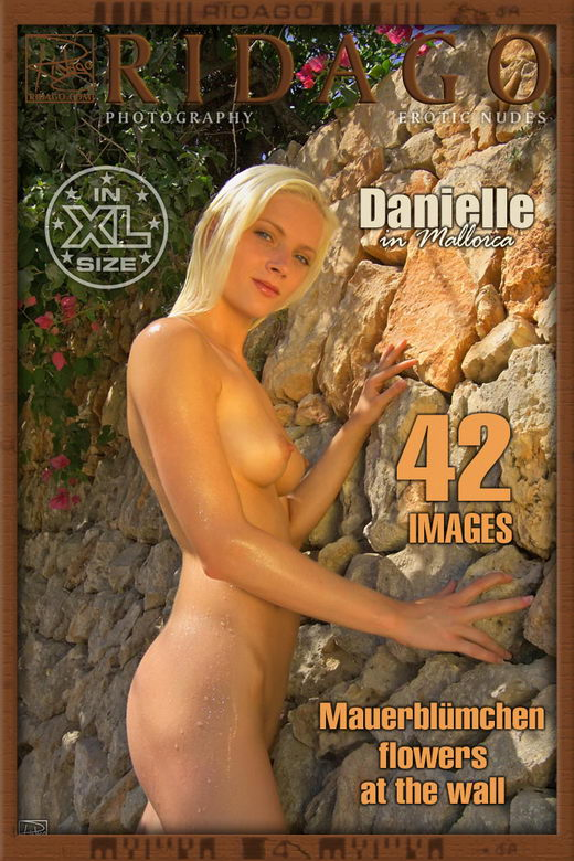 Danielle - `Flowers at the Wall` - by Carlos Ridago for RIDAGO