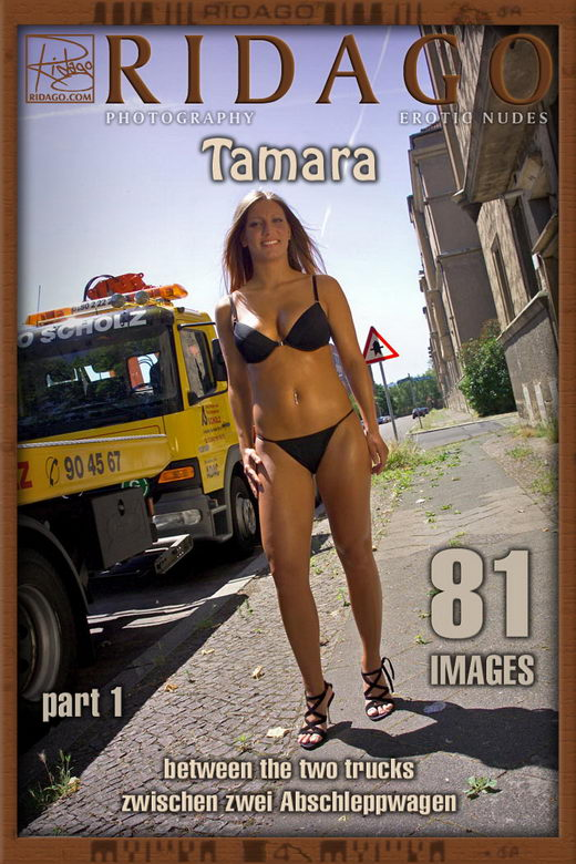 Tamara - `Between the two Trucks` - by Carlos Ridago for RIDAGO
