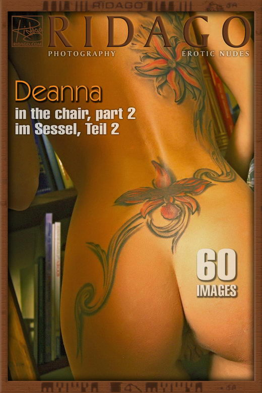 Deanna - `In The Chair - Part 2` - by Carlos Ridago for RIDAGO