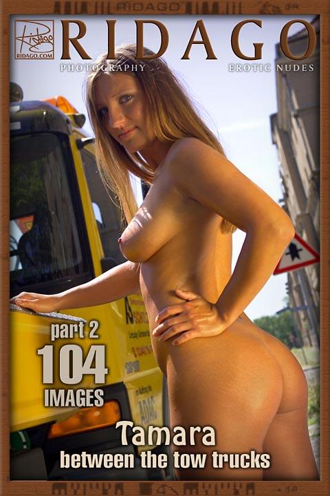 Tamara - `Between the Tow Trucks` - by Carlos Ridago for RIDAGO