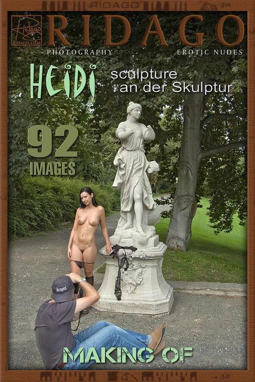 Heidi - `Sculpture making of` - by Carlos Ridago for RIDAGO