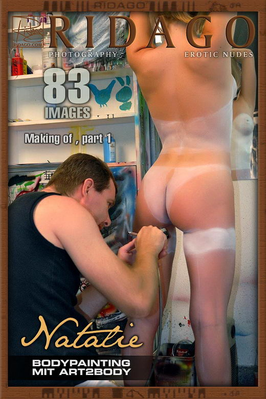 Natalie - `Body Painting` - by Carlos Ridago for RIDAGO