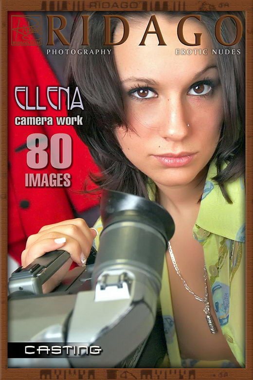 Ellena - `Camera Work` - by Carlos Ridago for RIDAGO
