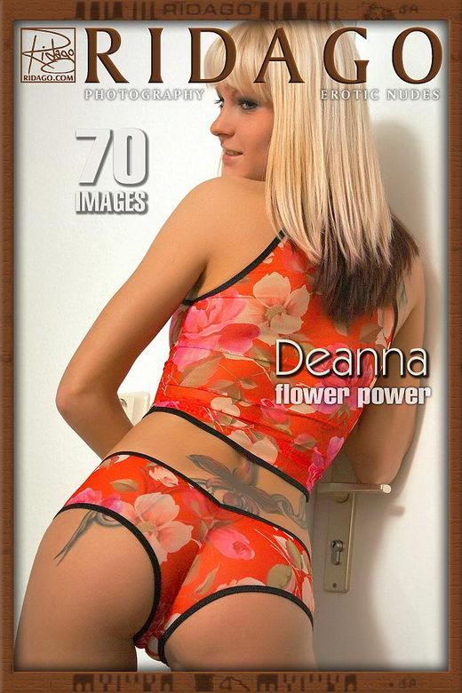 Deanna - `Flower Power - Part 1` - by Carlos Ridago for RIDAGO