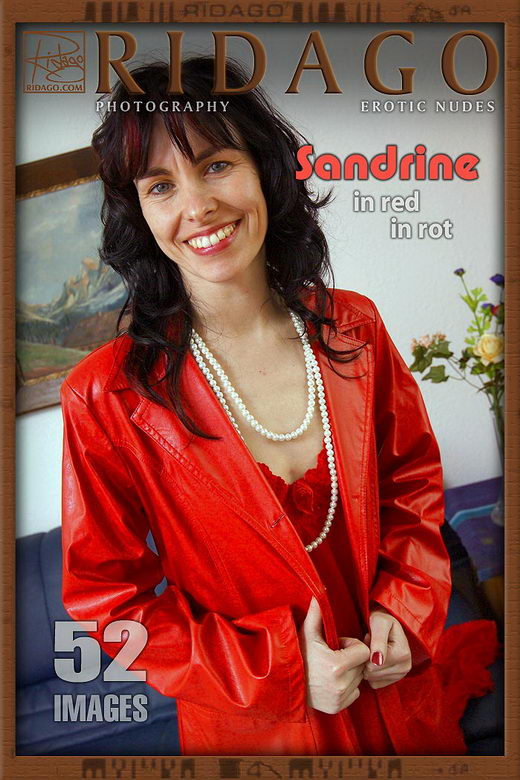 Sandrine - `Sandrine in Red` - by Carlos Ridago for RIDAGO