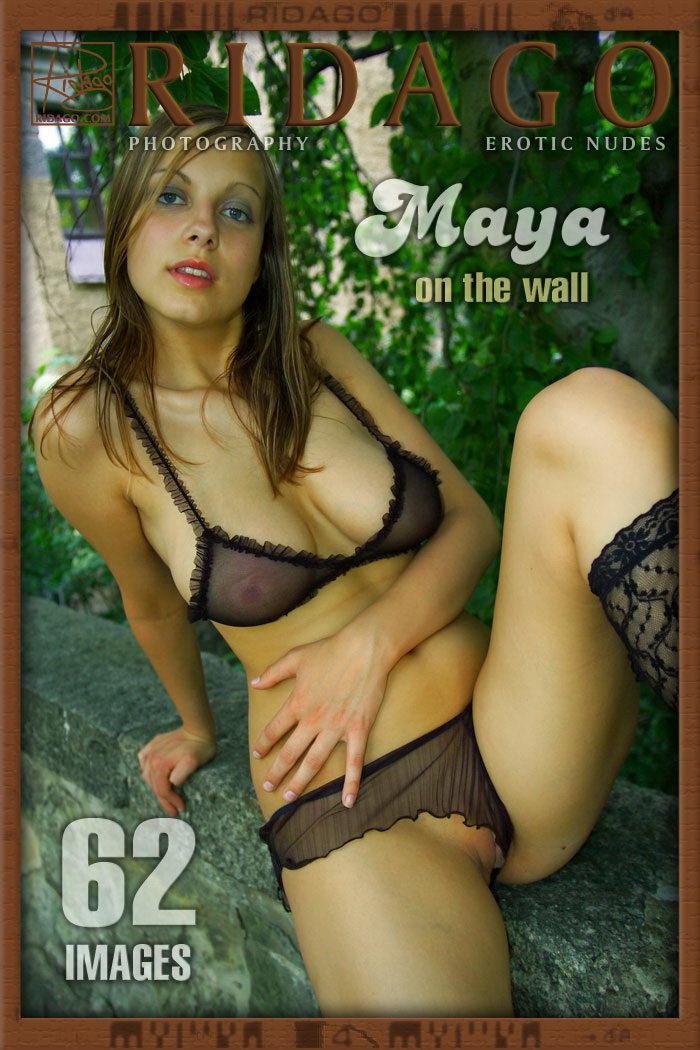 Maya - `On the wall` - by Carlos Ridago for RIDAGO
