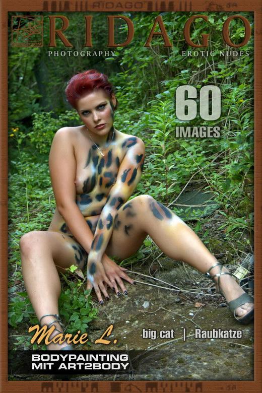 Marie L - `Bodypainting 05` - by Carlos Ridago for RIDAGO