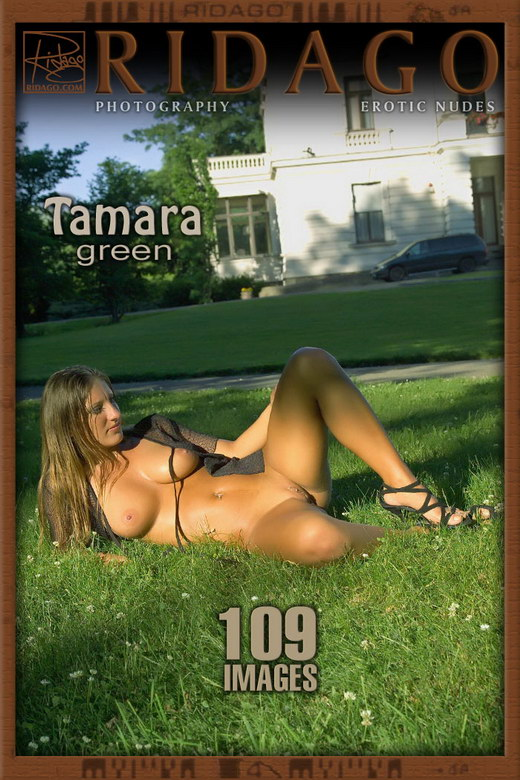Tamara - `Green` - by Carlos Ridago for RIDAGO