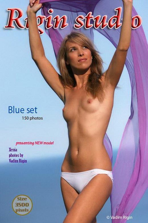 Xenia - `Blue Set` - by Vadim Rigin for RIGIN-STUDIO