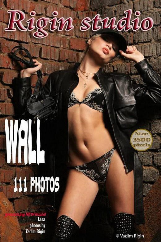 Lara - `Wall` - by Vadim Rigin for RIGIN-STUDIO