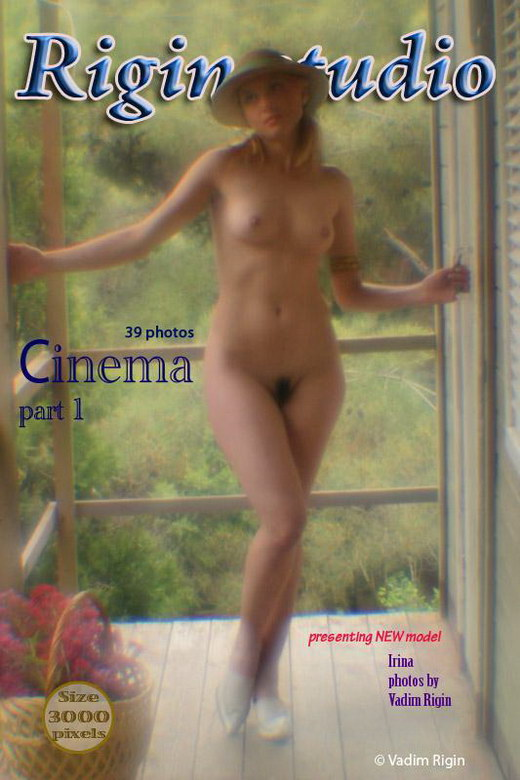 Irina - `Cinema - Part I` - by Vadim Rigin for RIGIN-STUDIO