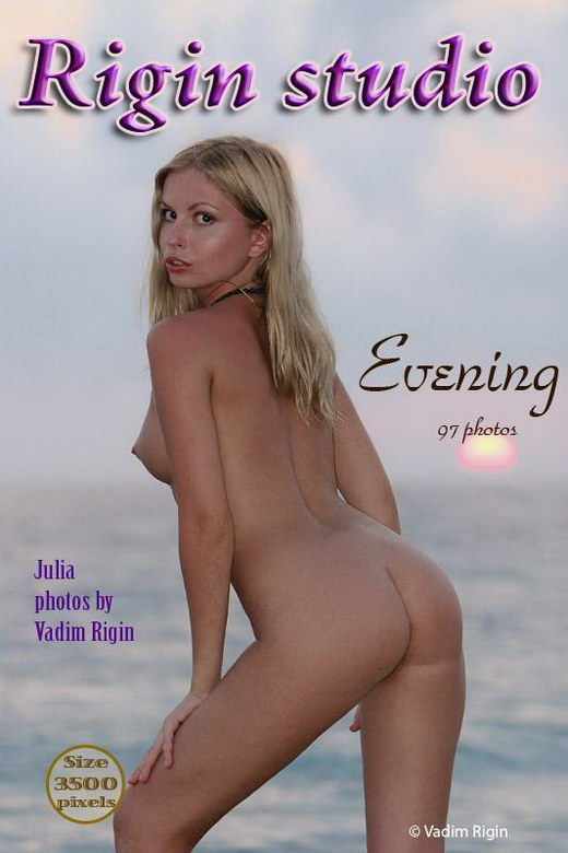 Julia - `Evening` - by Vadim Rigin for RIGIN-STUDIO