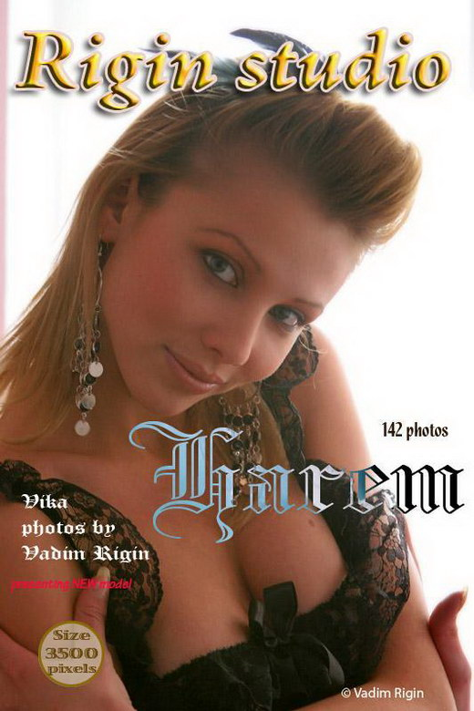 Vika - `Harem` - by Vadim Rigin for RIGIN-STUDIO