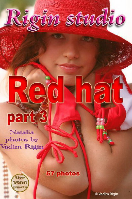 Natalia - `Red Hat - Part III` - by Vadim Rigin for RIGIN-STUDIO