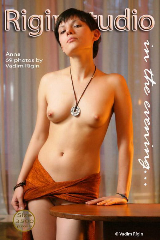 Anna - `In The Evening` - by Vadim Rigin for RIGIN-STUDIO