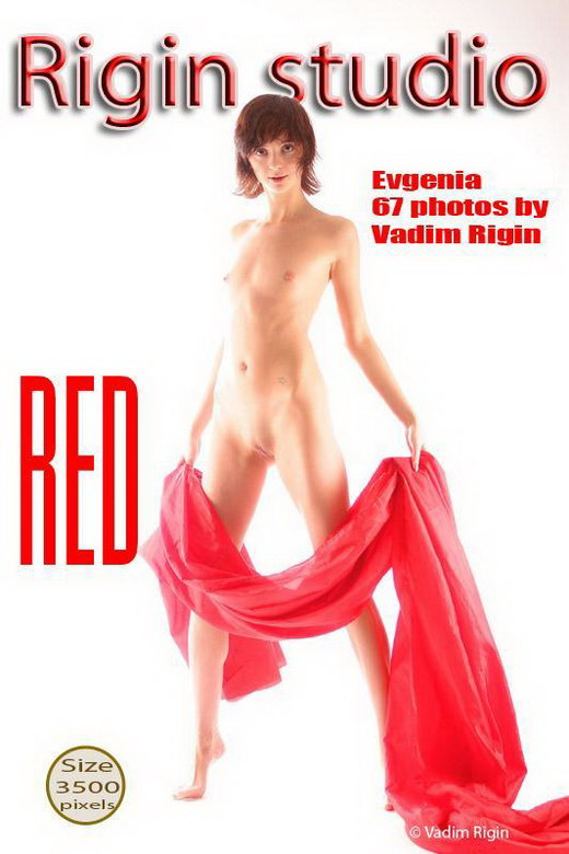 Evgenia - `Red` - by Vadim Rigin for RIGIN-STUDIO