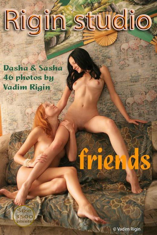 Dasha & Sasha - `Friends` - by Vadim Rigin for RIGIN-STUDIO