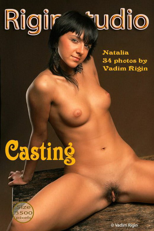 Natalia - `Casting` - by Vadim Rigin for RIGIN-STUDIO