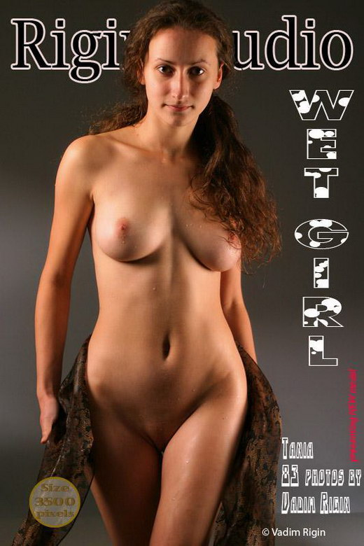 Tania - `Wet Girl` - by Vadim Rigin for RIGIN-STUDIO
