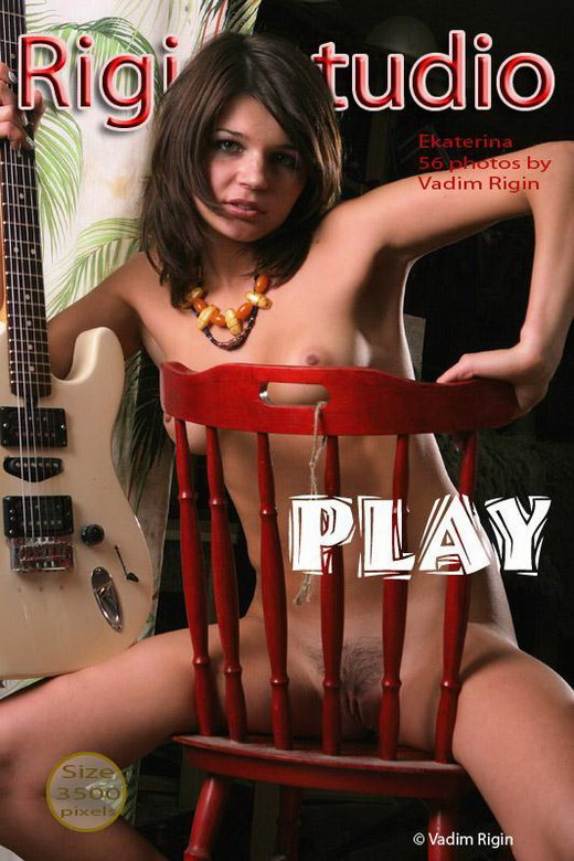 Ekatrina - `Play` - by Vadim Rigin for RIGIN-STUDIO