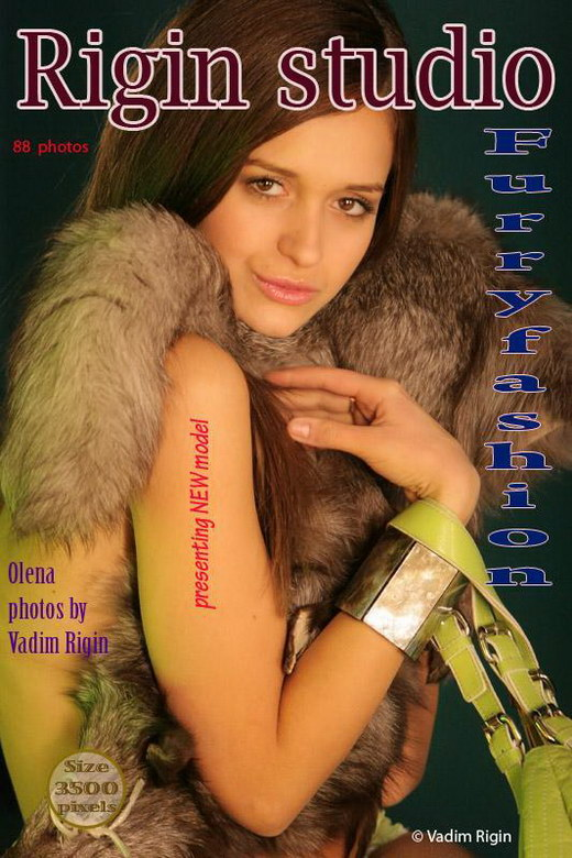Olena - `Furry fashion` - by Vadim Rigin for RIGIN-STUDIO