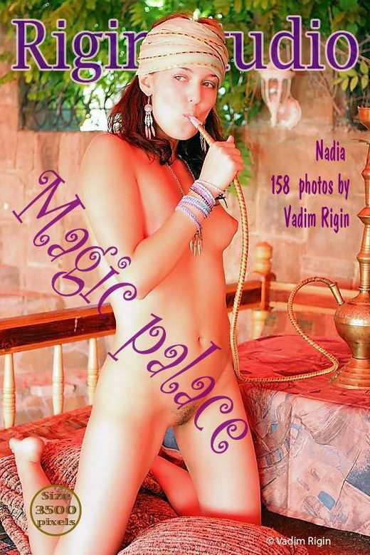 Nadia - `Magic Palace` - by Vadim Rigin for RIGIN-STUDIO